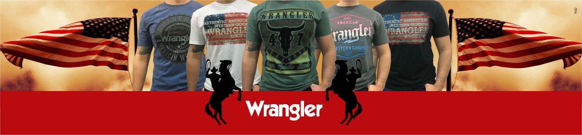 camiseta wrangler
