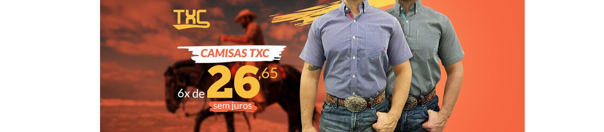 Banner Destaque Camisa TXC - Fevereiro