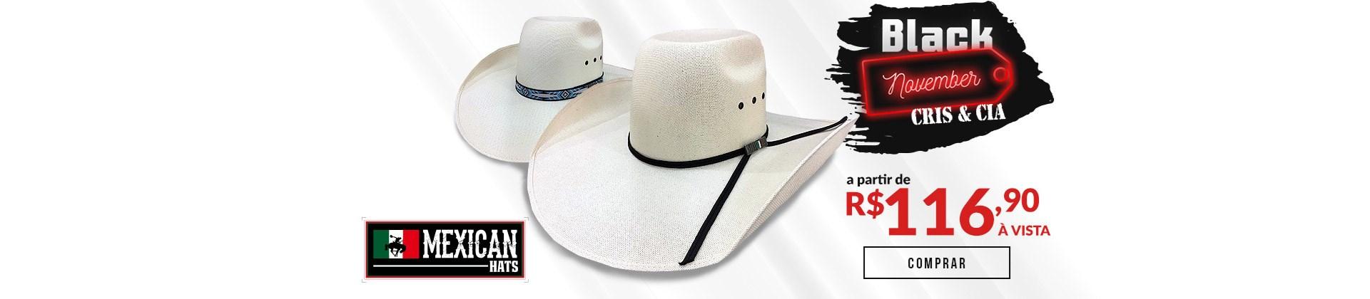 Loredo Mexican Hats - Black November 01