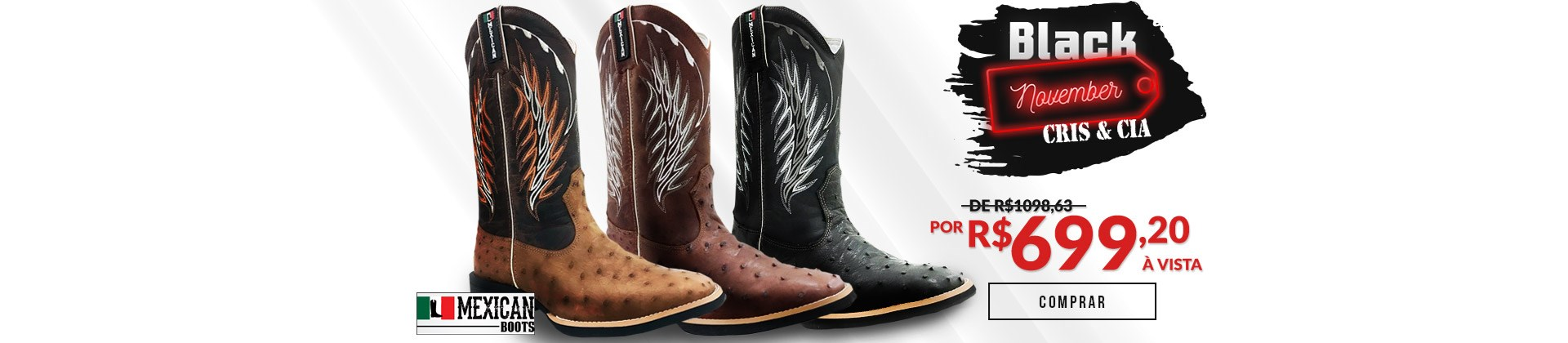 Mexican Boots - Exoticas - 01