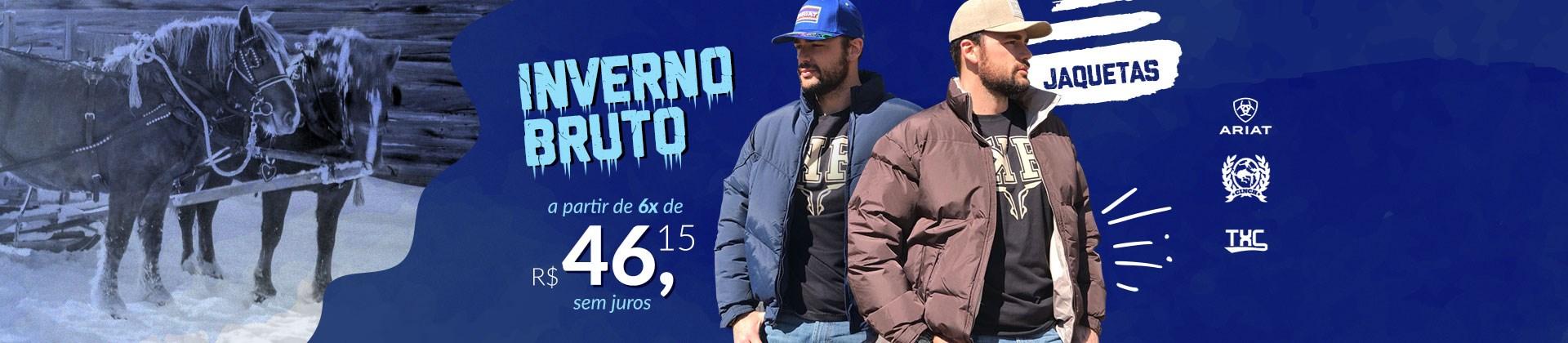 Banner Destaque Inverno Bruto Jaquetas -