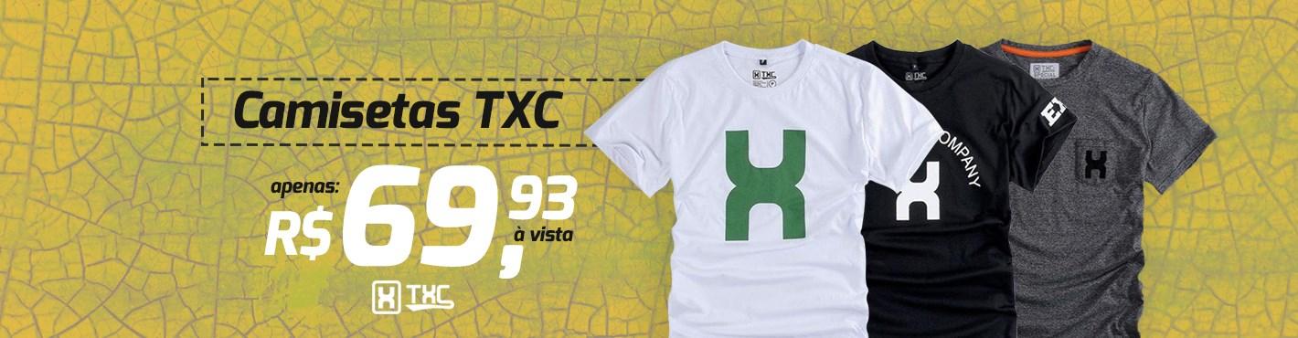 Banner Destaque Camisetas TXC