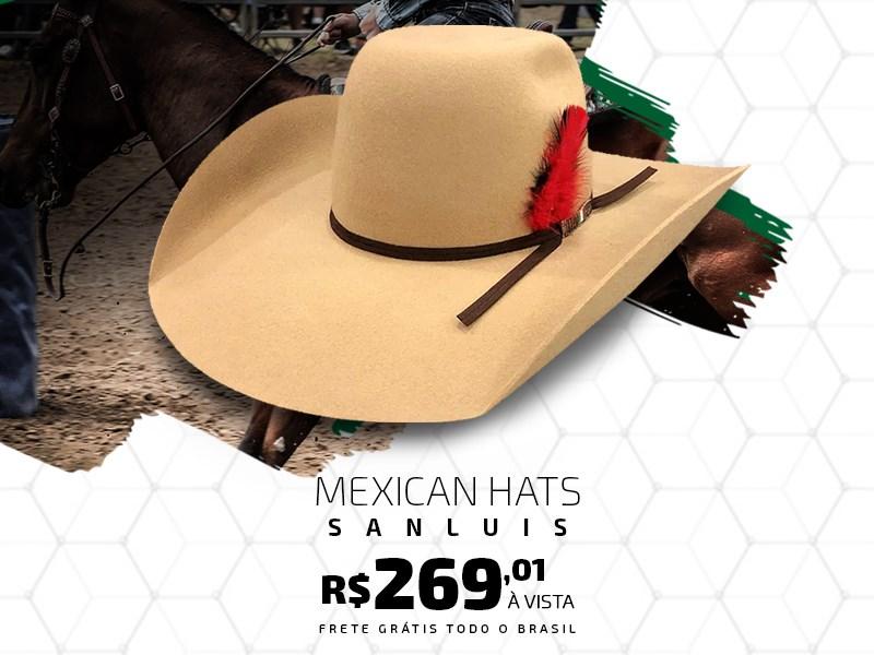 Banner - Chapéus Mexican Hats Sanluis