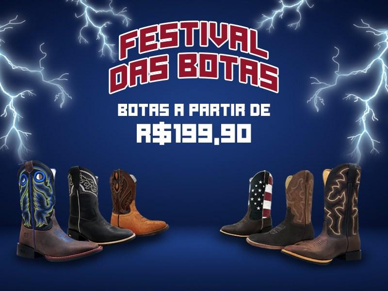 Banner - Festival das Botas