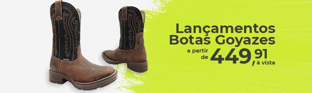 Mini Banner SDC: Lançamento botas goyazes