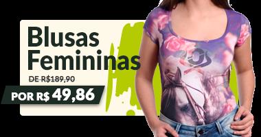 Mini Banner - Camisete Feminina