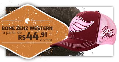 Mini Banner - Boné Zenz Western