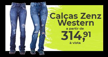 Mini Banner SDC: Calça Zenz Western