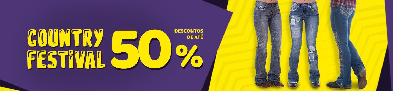 Country Festival - Calça Feminina 50%