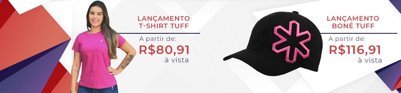 Banner - T-shirt e boné TUFF