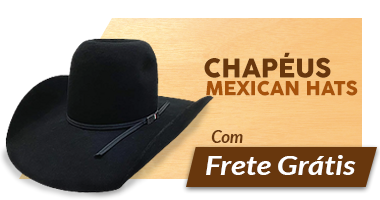 Mini Banner - Chapéu Mexican