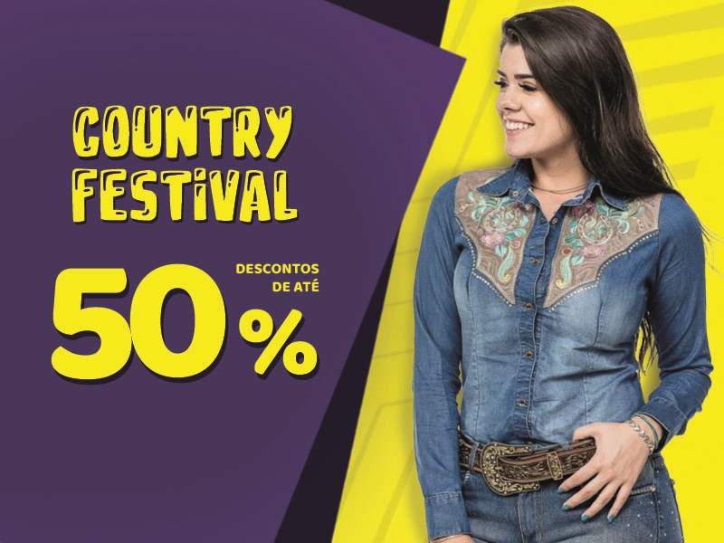 Country Festival - Camisete 50%