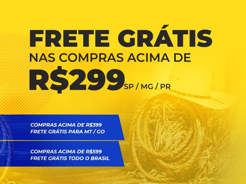 Frete gratis todo o Brasil