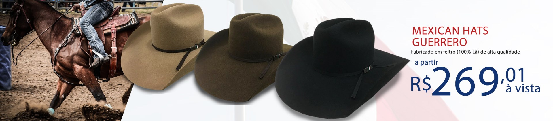 Banner - Mexican Hats