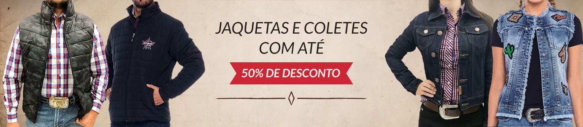 Banner - jaquetas e Coletes 50%