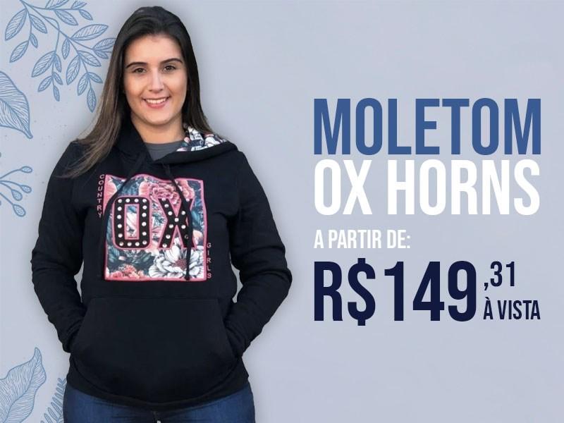 Banner - Moletom Ox Fem
