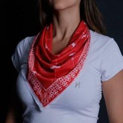 Bandana TXC Vermelho/ Branco BD015