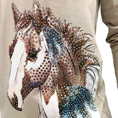 Blusa Miss Country Horse Feathers 338