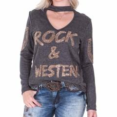 Blusa Zenz Western Rock You ZW0218008