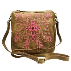 Bolsa Goyazes Dallas Ocre/ Atlanta Pink HB-183240-4