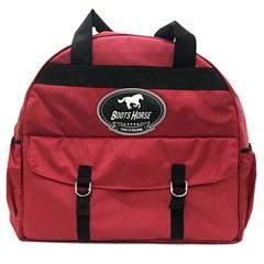 Bolsa para Traias e Caneleiras em Nylon Vermelho/Preto Boots Horse BH-30