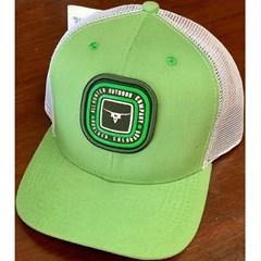Boné All Hunter Verde/Tela Branco 814