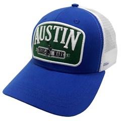 Boné Austin Western Azul/Tela Branco BONE-08