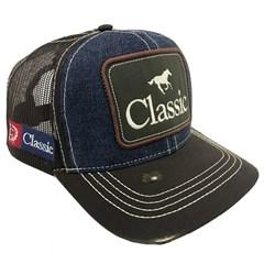 Boné Classic Jeans/Marrom/Tela Marrom BA-CLEQ-FA