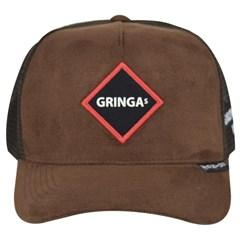 Boné Gringa'S Western Marrom/Tela 23785