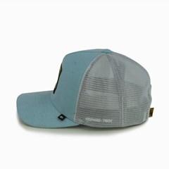 Boné Gringa'S Western Wear Azul Claro/ Tela Branco TRK-042