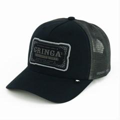 Boné Gringa'S Western Wear Preto/ Tela Chumbo TRK-041