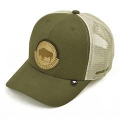 Boné Gringa'S Western Wear Verde Militar/ Bege SNC-028