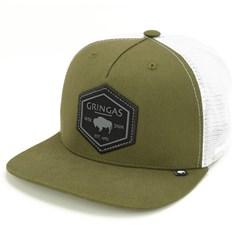 Boné Gringa'S Western Wear Verde/Tela Branco SNR-016