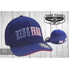 Boné King Farm Azul Marinho 1131