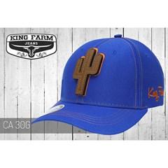 Boné King Farm Azul Royal CA30 ... 8911611cc93