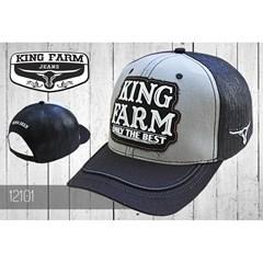 Boné King Farm Cinza/Preto/Tela 12101