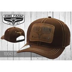 Boné King Farm Marrom 10043