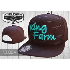 Boné King Farm Marrom AB300