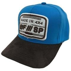 Boné Made In 4x4 Azul/Marrom