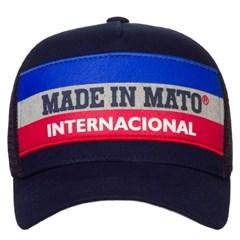 Boné Made In Mato Azul Marinho/Tela B1636