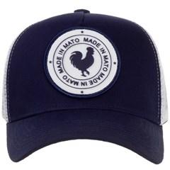 Boné Made In Mato Azul Marinho/Tela Branco B1503
