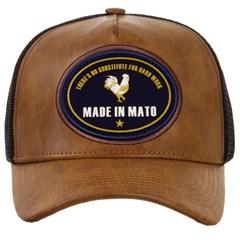 Boné Made In Mato Caramelo/Tela Preto B1473