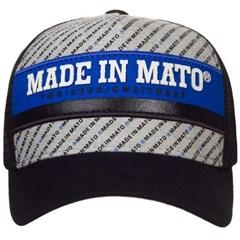 Boné Made In Mato Estampado/Preto/Tela B1635