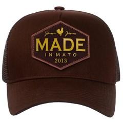 Boné Made In Mato Marrom/Tela B1498