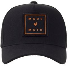 Boné Made In Mato Preto B1429 ... e7442d3bc94
