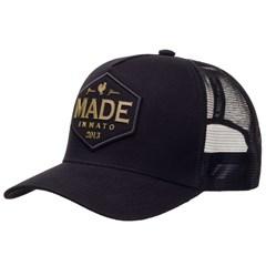 Boné Made In Mato Preto/Tela Preto 0030