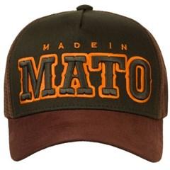 Boné Made In Mato Verde/Aba e Tela Marrom B1621