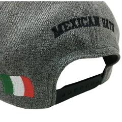 Boné Mexican Hats Cinza Mescla/Preto