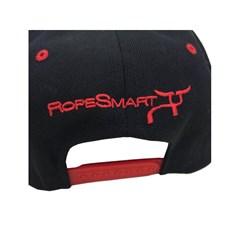 Boné Rope Smart Importado Preto/ Vermelho