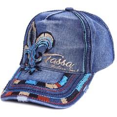 Boné Tassa Jeans Bordado 3990.1